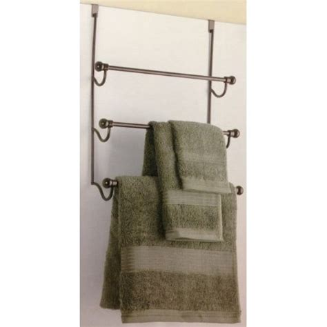 Towel Rack For Door by Door Towel Door Towel Rack Bronze Bathroom