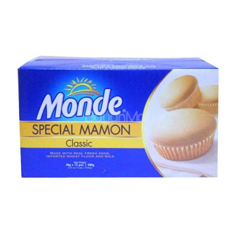 Monde Classical monde special mamon classic 40gx12pcs 480g