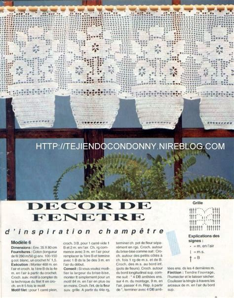 patrones cortinas ganchillo tejidos a crochet ganchillo patrones cortina para
