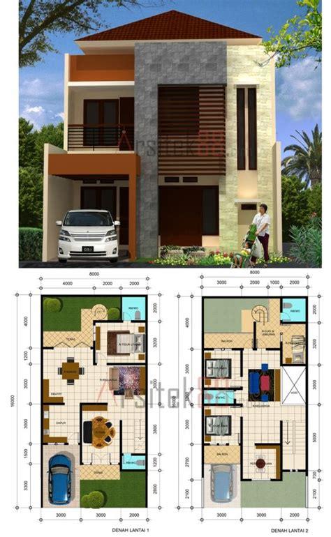gambar desain rumah minimalis modern 2 lantai type 36 45 90 1000 gambar model desain rumah