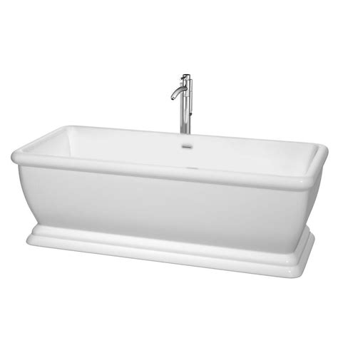 non standard bathtubs wyndham collection candace 5 7 ft acrylic classic