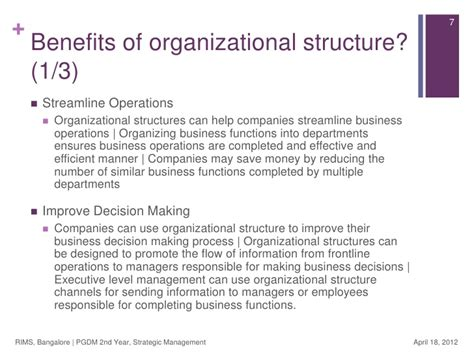 design management advantages strategic management organizational design