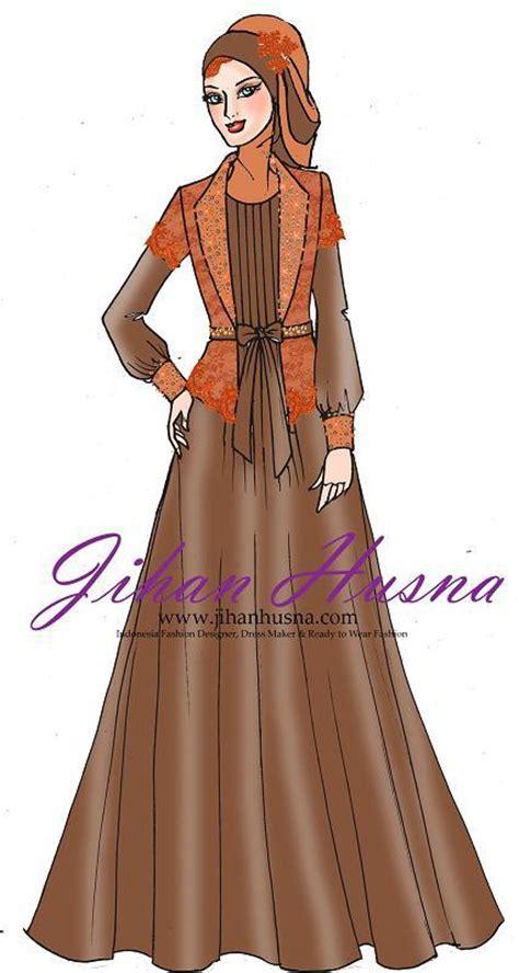 Desain Gamis Jihan Husna | jihan husna jihanhusna01 twitter