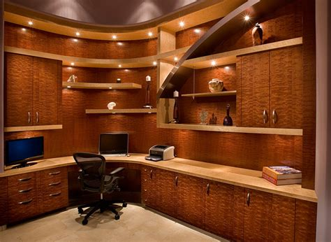 custom home office furniture cabinet design linear
