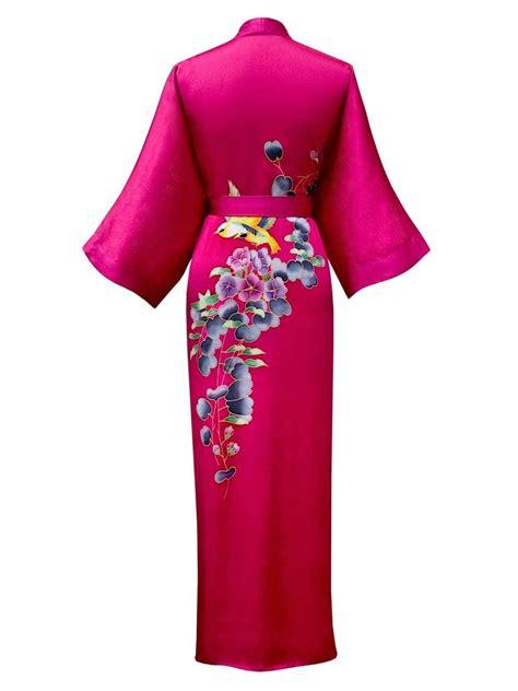 kimono robe silk silk kimono robes for silk kimono robes for