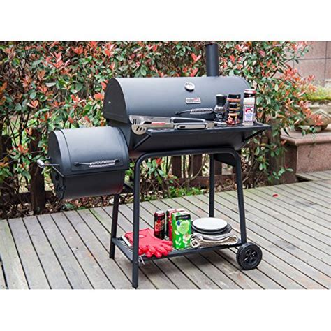 Backyard Grill 30 Offset Smoker Free Shipping Royal Gourmet Charcoal Grill With Offset