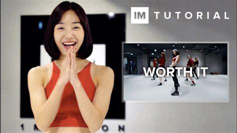 dance tutorial com worth it fifth harmony 1million dance tutorial
