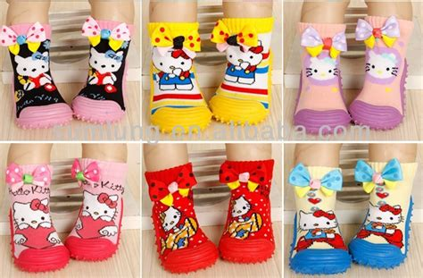 Socks Kaos Kaki Tak Terlihat Kaos Kaki Bawah Mata Kaki jacquard kaus kaki bayi dengan silikon bawah dan desain bunga karet bawah bayi kaus kaki