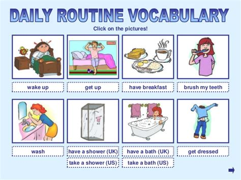 imagenes de getting up routine and time