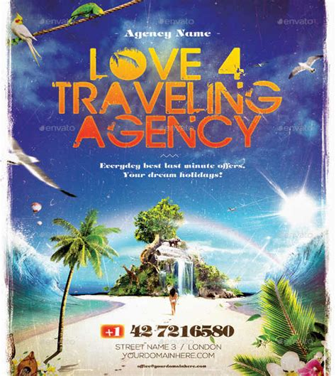 travel agency poster template 32 event poster templates downloadcloud