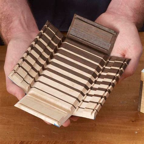 fold  keepsake box woodworking plan  wood magazine
