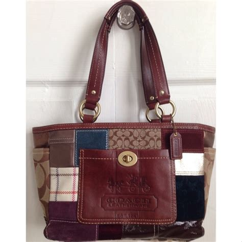 Coach Patchwork Purse Collection - 88 coach handbags coach patchwork handbag from