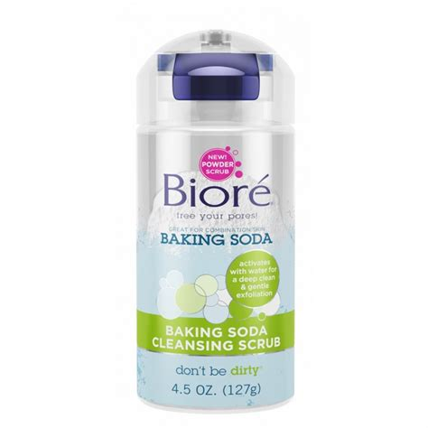 Detox With Baking Soda by Buy Baking Soda Cleansing Scrub 125 G By Biore