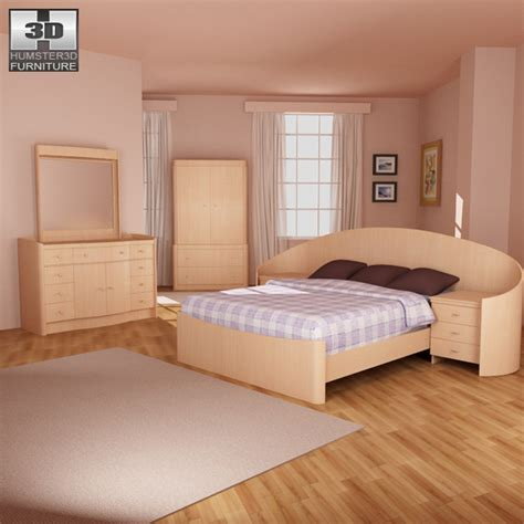 ikea model bedrooms bedroom furniture 16 set 3d model hum3d