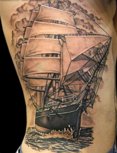 yacht tattoo designs ship tattoos page 2