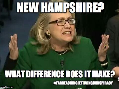 hillary what difference does it make imgflip