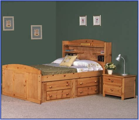 full bed with drawers full size captains bed with trundle and storage drawers