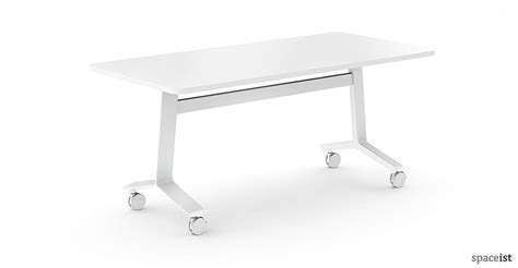 meeting tables blade folding table white