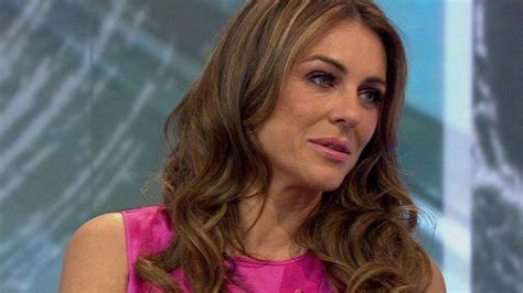 Elizabeth Hurley Faces Time Hollyscoop by Elizabeth Hurley On Breast Cancer Awareness Caign