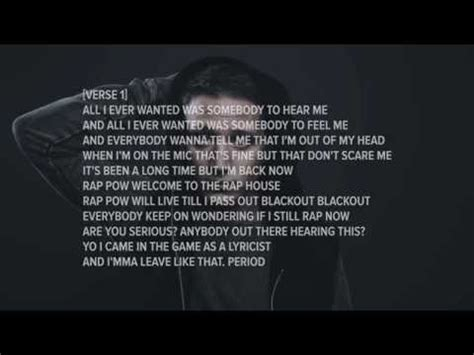 nf all i have [lyrics] youtube