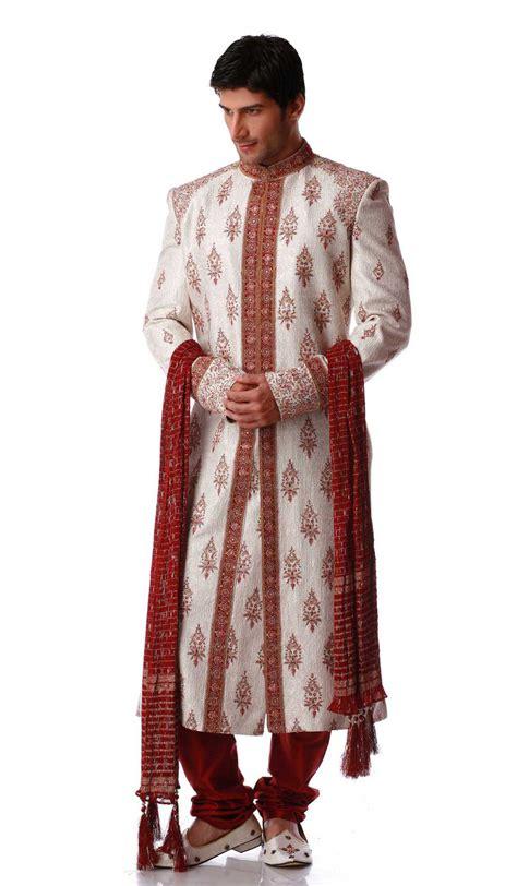 Piyama L 2w White Sherwani