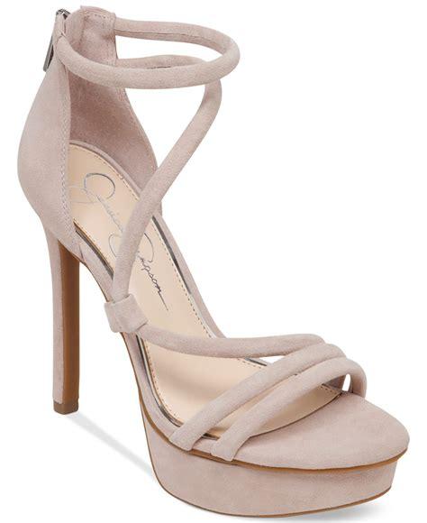 platform dress sandals lyst caela asymmetrical platform dress