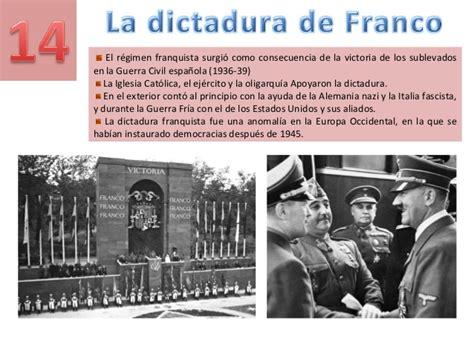 la dictadura de gnero 8415338813 tema 14 la dictadura de franco