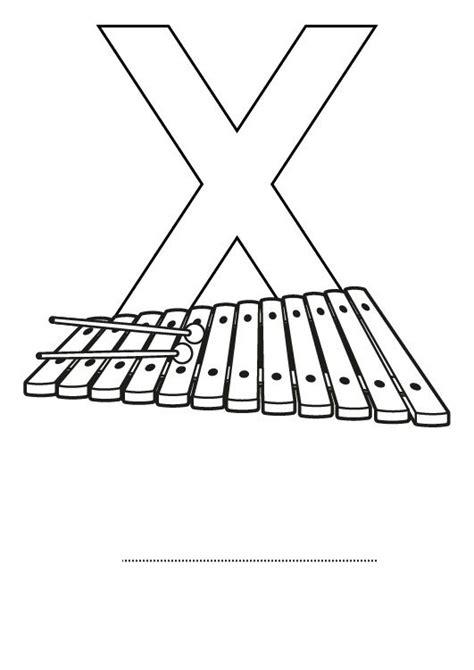imagenes en ingles con x letra x dibujo para colorear e imprimir