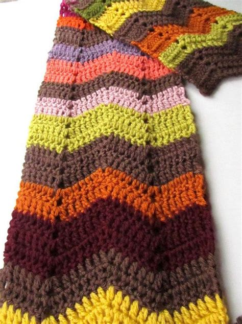 crochet pattern zig zag scarf 17 best images about virkatut huivit on pinterest free