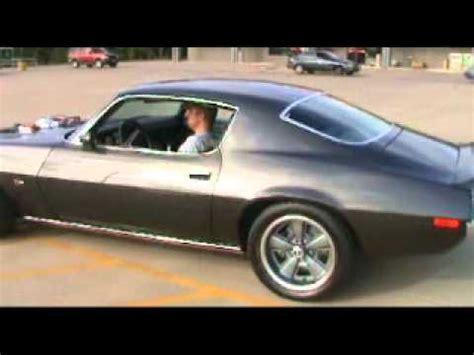supercharged 1970 z28 camaro pro touring youtube