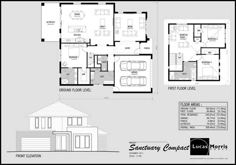 double storey floor plans sanctuary balwyn 33sq double storey floor plan design by