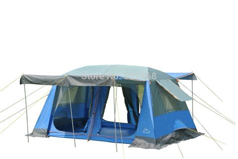 2 bedroom tent high quality two bedroom 5 10person layer waterproof cing tent with front and