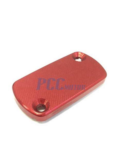 honda front brake reservoir cover cap cr crf       red  rc ebay