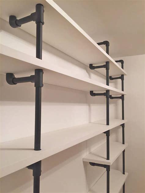 andra white painted scaffolding bookcase  urban grain