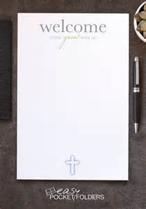 church welcome letter template free church letterhead for visitor welcome folders easy