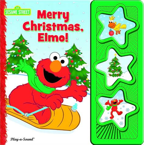 sesame street merry christmas elmo by publications