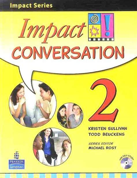 impact books impact series student book with cd impact conversation