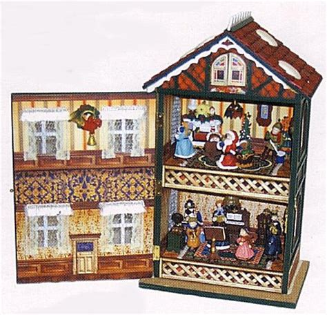 Christmas House Animated Musical Large