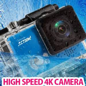 affordable high speed 4k hd action camera from pyle usa