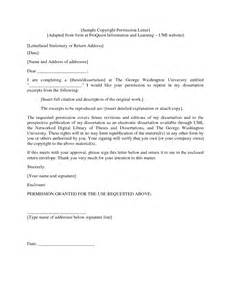 copyright permission letter template permission granted letter