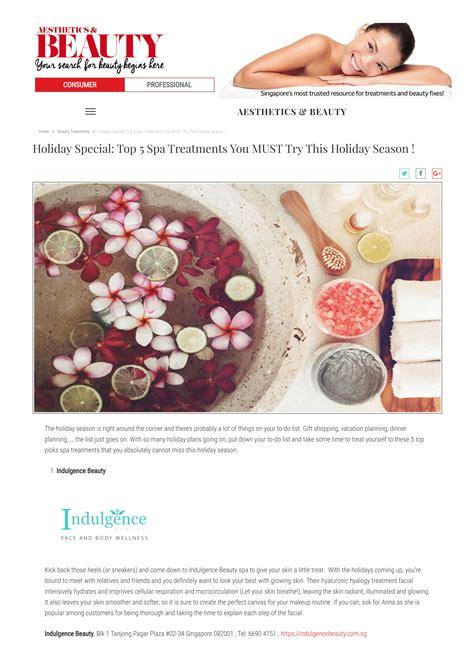 Detox Spa Treatments Singapore by Top Spa Treatments