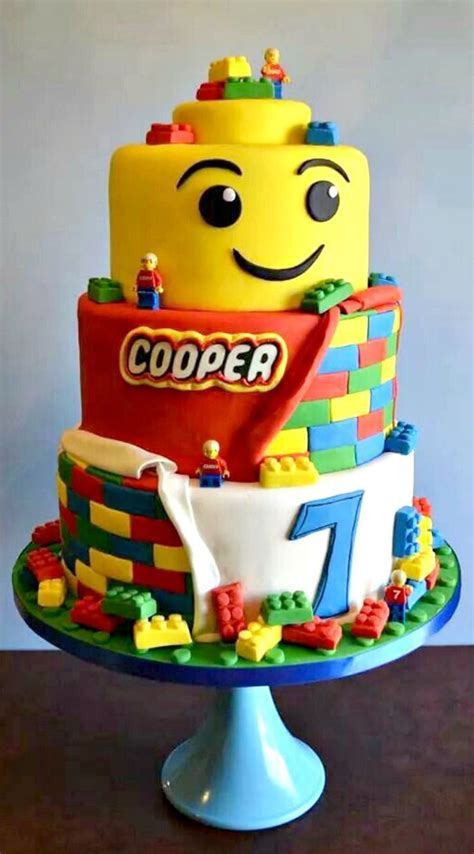 tutorial lego in pdz lego cake this is just crazy that it s for a cooper and
