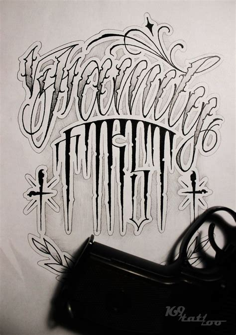 fonts tattoo criminal lettering lettering