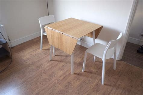 ikea drop leaf dining table drop leaf table ikea ps 2012 and 2 chairs in bromley