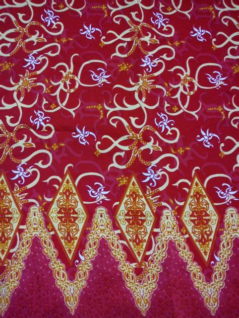 Kain Batik Songket Prodo Tinta Emas batik kalimantan barat