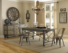 Industrial Dining Room Table Industrial Style Dining Room Tables Marceladick