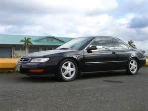 autoland 1997 acura cl 3 0 blk on blk coilover a c