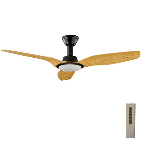 Airflow Ceiling Fans With Light Trident Dc Ceiling Fan High Airflow Led Light Black 56 Quot
