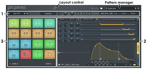 midi pattern library fpc sle player instrument