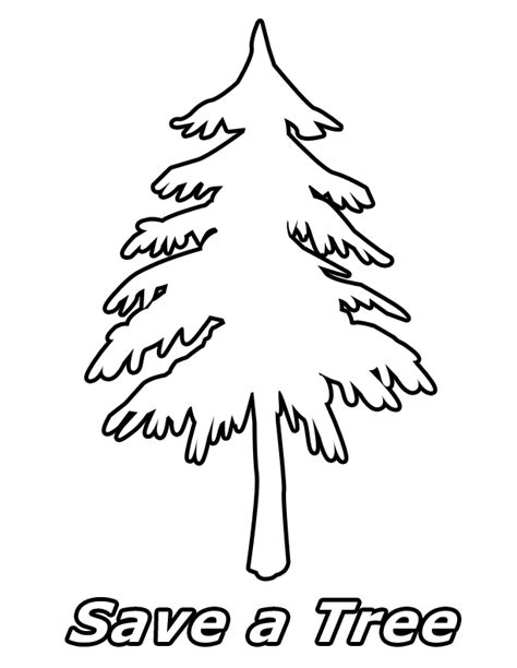green tree coloring page go green coloring pages az coloring pages